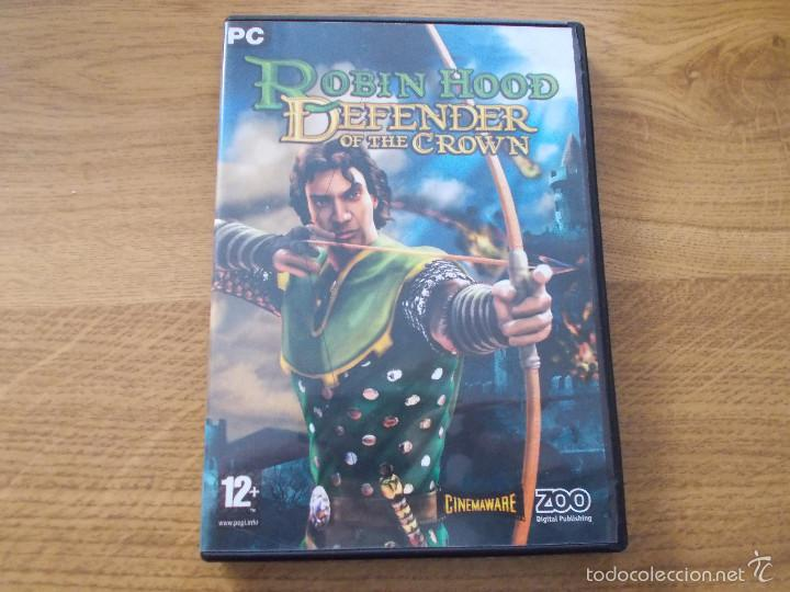 robin hood defender of the crown pc game