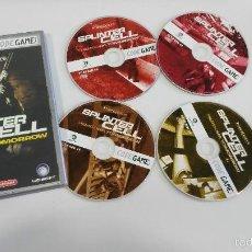 Videojuegos y Consolas: JUEGO PC SPLINTER CELL PANDORA TOMORROW. Lote 56152237