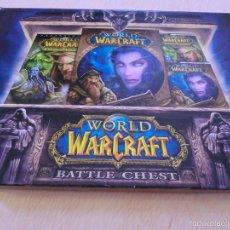 Videojuegos y Consolas: JUEGO PARA PC WORLD OF WARCRAFT Y THE BURNING CRUSADE. BATTLE CHEST - SET CON 2 CDS + GUIA + ESTUCHE. Lote 56223417