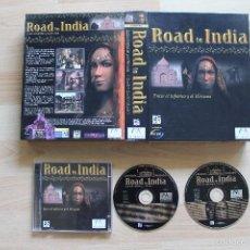 Videojuegos y Consolas: ROAD TO INDIA ENTRE EL INFIERNO Y EL NIRVANA JUEGO PC EDICIÓN ESPAÑOLA CAJA CARTÓN BIG BOX. Lote 56256914