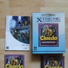 Videojuegos y Consolas: CLUEDO MURDER AT BLACKWELL GRANGE JUEGO PC EDICIÓN ESPAÑOLA CAJA CARTÓN BIG BOX. Lote 56257157