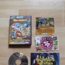 Videojuegos y Consolas: MORTADELO Y FILEMON DOS VAQUEROS CHAPUCEROS JUEGO PC EDICIÓN ESPAÑOLA. Lote 56260672