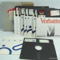 Videojuegos y Consolas: LOTE 19 DISQUETTE S 5.25 PULGADAS-CUARTO 1/4 -3M,ETC - VIRGENES-FLOPPY-DISQUETE DISCO DISQUET Y UN. Lote 56393871