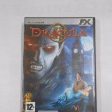 Videojuegos y Consolas: DRACULA 2 II - PC JUEGO PAL ESPAÑA COMPLETO. FX. EL MUNDO. TDKV3. Lote 77119415
