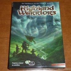 Videojuegos y Consolas: HIGHLAND WARRIORS - EN ESTUCHE ESPECIAL DE CARTÓN. Lote 56977541