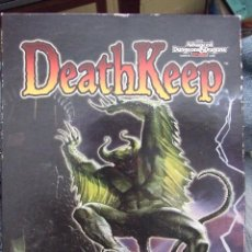 Videojuegos y Consolas: ADVANCED DUNGEONS & DRAGONS - DEATHKEEP - TSR MINDSCAPE 1996 CDROM. Lote 57044300