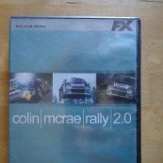 Videojuegos y Consolas: JUEGO PC COLIN MCRAE RALLY 2.0 SIMULADOR CARRERAS DE COCHES 2000 THE CODEMASTERS FX INTERACTIVE. Lote 102640206