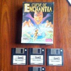 Videojuegos y Consolas: JUEGO PC CURSE OF ENCHANTIA, PROEIN, PLANETA DEAGOSTINI.. Lote 57080674