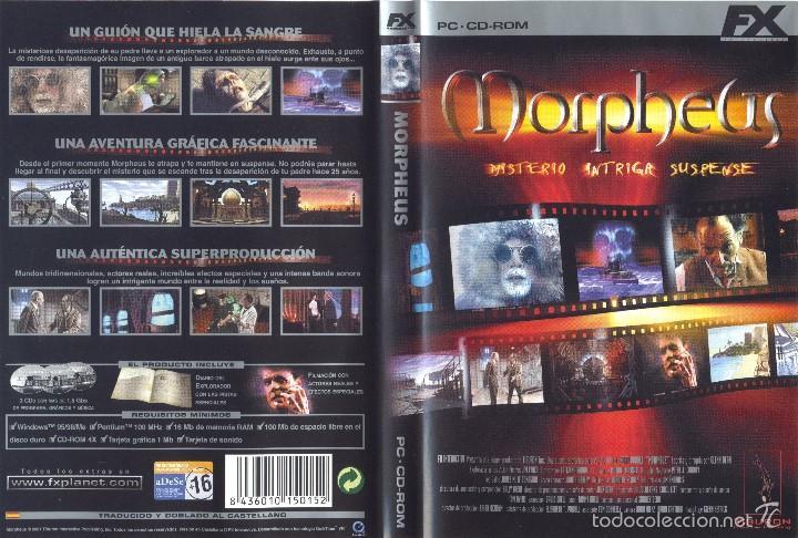 JUEGO PC CD-ROM - MORPHEUS (Juguetes - Videojuegos y Consolas - PC)