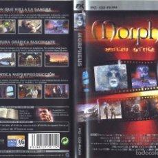 Videojuegos y Consolas: JUEGO PC CD-ROM - MORPHEUS. Lote 57125627