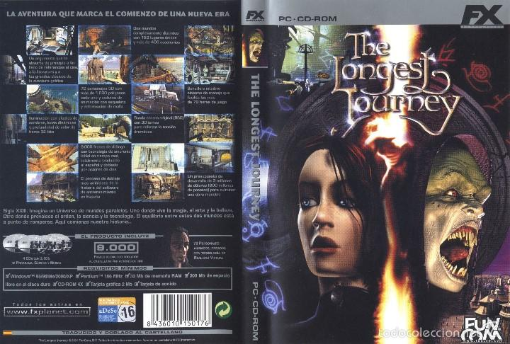 Videojuegos y Consolas: JUEGO PC CD-ROM - THE LONGEST JOURNEY - Foto 1 - 57125638