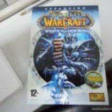 Videojuegos y Consolas: JUEGO WORLD WARCRAFT EXPANSION. Lote 57478981
