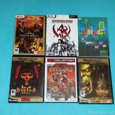 Videojuegos y Consolas: LOTE JUEGOS PC WARHAMMER, DIABLO, WARCRAFT. Lote 57562644