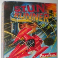 Videojuegos y Consolas: S.T.U.N. RUNNER [DOMARK] 1990 TENGEN / ATARI GAMES [PC 3 1/2 - 5 1/4] PHILIPS AMSTRAD TANDY. Lote 57812897
