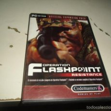 Videojuegos y Consolas: PC CD-ROM OPERATION FLASHPOINT RESISTANCE. Lote 173157800