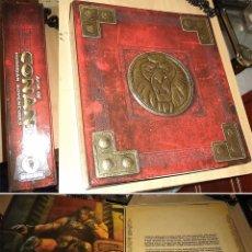 Videojuegos y Consolas: AGE OF CONAN HYBORIAN ADVENTURES EDICIÓN DE COLECCIONISTA 2.008 JUEGO PARA PC CAJA 4 DVD. Lote 58111152