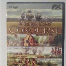 Videojuegos y Consolas: AMRICAN CONQUEST - ED. DE ORO - JUEGO PC ESTRATEGIA-VER REQUISITOS MÍNIMOS. Lote 58221179