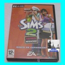 Videojuegos y Consolas: LOS SIMS 2 - ABREN NEGOCIOS - PACK DE EXPANSIÓN - 2006 - EA GAMES - EXCELENTE. Lote 58227428