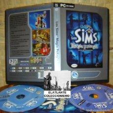 Videojuegos y Consolas: LOS SIMS - MAGIA POTAGIA (DISCO DE EXPANSIÓN) - EA GAMES - B. ESTADO - CON MANUAL Y DISCO EXTRA. Lote 58227990