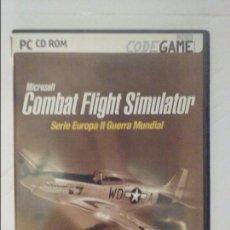 Videojuegos y Consolas: MICROSOFT - COMBAT FLIGHT SIMULATOR - SERIE EUROPA II G UERRA MUNDIAL (VER REQUERIMIENTOS). Lote 58226920