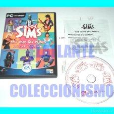 Videojuegos y Consolas: LOS SIMS - MÁS VIVOS QUE NUNCA - PACK DE EXPANSIÓN - EA GAMES - EXCELENTE. Lote 58228455