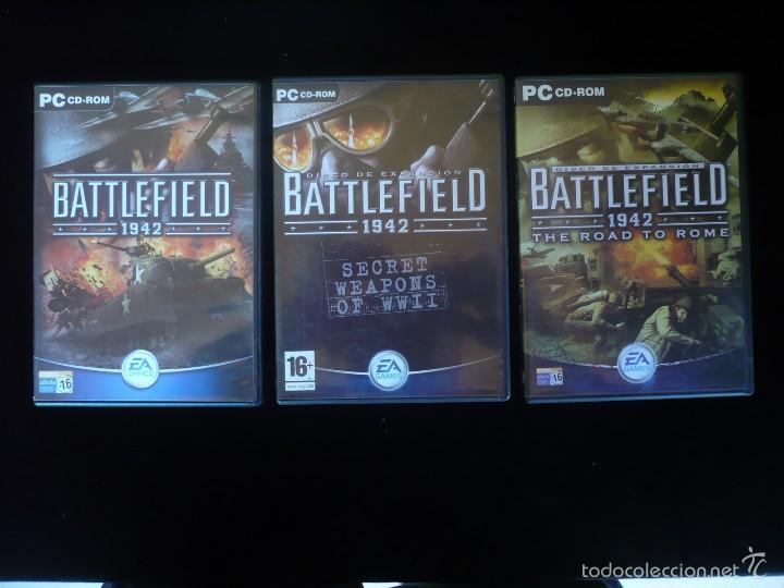 BATTLEFIELD 1942 + DISCOS EXPANSION (Juguetes - Videojuegos y Consolas - PC)