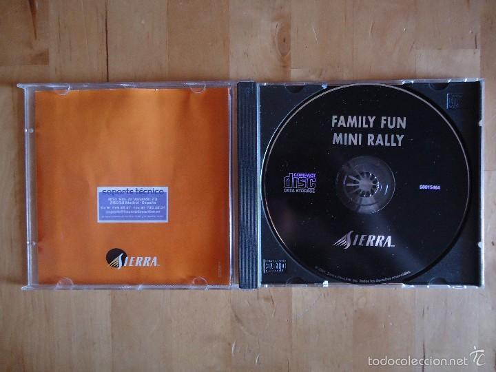 Videojuegos y Consolas: JUEGO PC FAMILY FUN MINI RALLY VIVENDI UNIVERSAL INTERACTIVE SIERRA 2001 SIMULADOR CARRERAS COCHES - Foto 2 - 217615741
