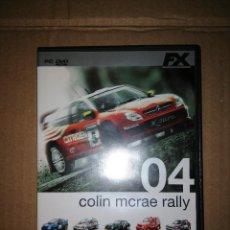 Videojuegos y Consolas: COLIN MCRAE RALLY 04 - PC DVD-ROM. Lote 58430006