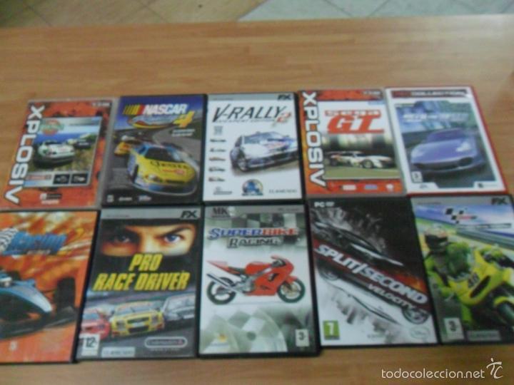 Lote 10 Juegos Carreras Pc Sega Gt Rally Pro Comprar Videojuegos