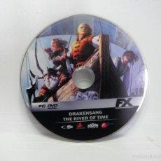 Videojuegos y Consolas: JUEGO PC DRAKENSANG THE RIVER OF TIME. Lote 59651939