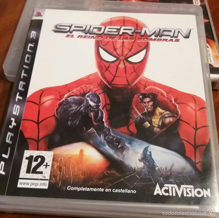 JUEGO PLAYSTATION 3 SPIDER-MAN (Juguetes - Videojuegos y Consolas - PC)