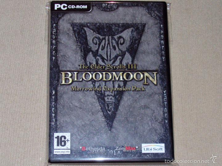 The Elder Scrolls III: Morrowind: Bloodmoon, EN PERFECTO ESTADO VER ESP -PC-