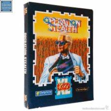 Videojuegos y Consolas: OPERATION STEALTH / JUEGO PC EN 2 DISQUETES HD 3,5´´ / ESPAÑOL / KIXX 1990. Lote 53911820