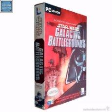 Videojuegos y Consolas: STAR WARS / GALACTIC BATTLEGROUNDS / JUEGO PC 2 CD-ROM / ESPAÑOL / LUCAS ARTS 2001. Lote 56339141