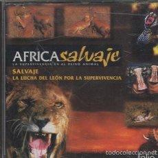 Videogiochi e Consoli: AFRICA SALVAJE, LA SUPERVIVENCIA EN EL REINO NATURAL. CD-PC-141. Lote 60643079