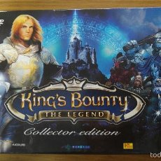 Videojuegos y Consolas: JUEGO PC: KING´S BOUNTY THE LEGEND COLLECTOR EDITION + CAMISETA. Lote 61055663