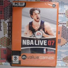"""Videojuegos y Consolas: JUEGO PC (DVD-ROM) """"NBA LIVE 07"""" (PRECINTADO). Lote 61210095"""