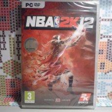 """Videojuegos y Consolas: JUEGO PC (DVD-ROM) """"NBA 2K12"""" (PRECINTADO). Lote 61210255"""