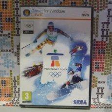 """Videojuegos y Consolas: JUEGO PC (DVD-ROM) """"VANCOUVER 2010"""" (PRECINTADO). Lote 61210723"""
