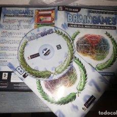 Videojuegos y Consolas: BRAIN GAMES EJERCITA LA MENTE , INTERACTIVE, CASTELLANO PC CD ROM. Lote 62563904