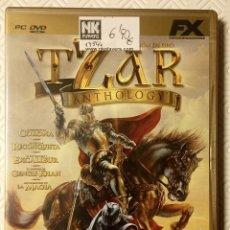 Videojuegos y Consolas: TZAR ANTHOLOGY JUEGO EN DVD INCLUYE 5 CAMPAÑAS. Lote 62879132