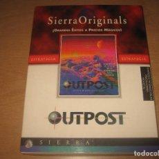 Videojuegos y Consolas: OUTPOST SIERRA ORIGINALS AÑO 1994 PC CAJA E INSTRUCCIONES ESPAÑOL. Lote 62958220
