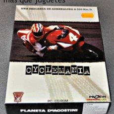 Videojuegos y Consolas: JUEGO PARA PC CYCLEMANIA. Lote 110816707