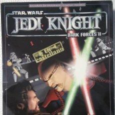 Videojuegos y Consolas: STAR WARS: JEDI KNIGHT (DARK FORCES II) JUEGO ACCION DE PC JUEGO EN CAJA GRANDE DE CARTON. Lote 63191228