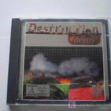 Videojuegos y Consolas: DESTRUCTION DERBY - JUEGO ORDENADOR PC - ARGENTUM - ORIGINAL PERFECTO. Lote 63510812