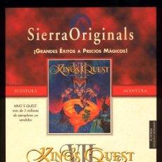 Videojuegos y Consolas: KING'S QUEST VII THE PRINCELESS BRIDE CAJA GRANDE 2º EDICIÓN. Lote 64439855