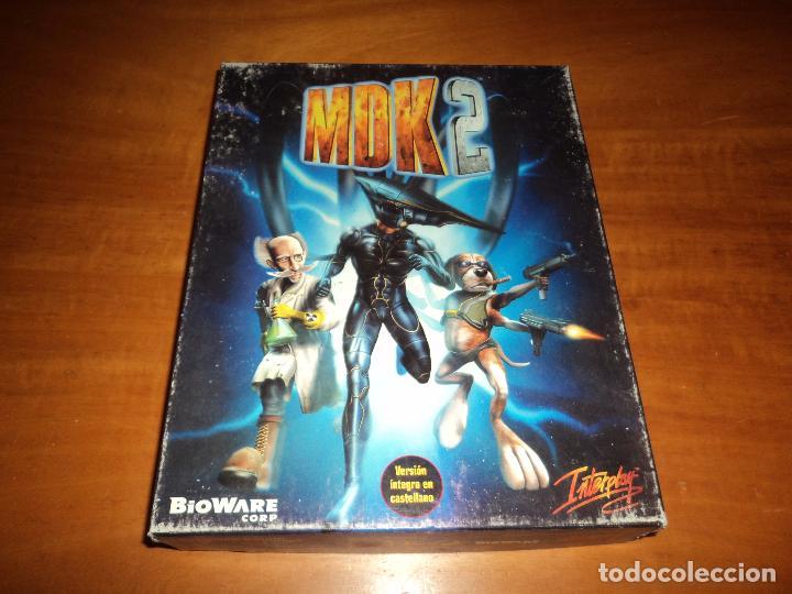Videojuegos y Consolas: MDK 2 - PC - CAJA DE CARTON GRANDE - ¡¡NUEVO Y PRECINTADO (JUEGO Y MANUAL)!! - Foto 5 - 24583174