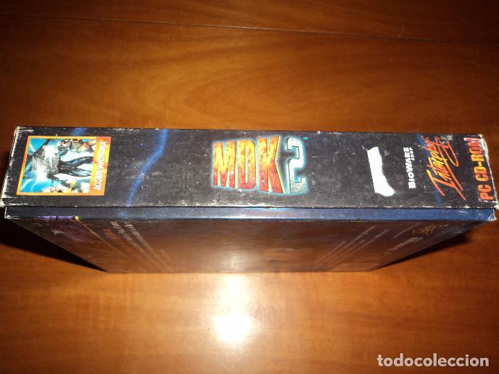 Videojuegos y Consolas: MDK 2 - PC - CAJA DE CARTON GRANDE - ¡¡NUEVO Y PRECINTADO (JUEGO Y MANUAL)!! - Foto 7 - 24583174