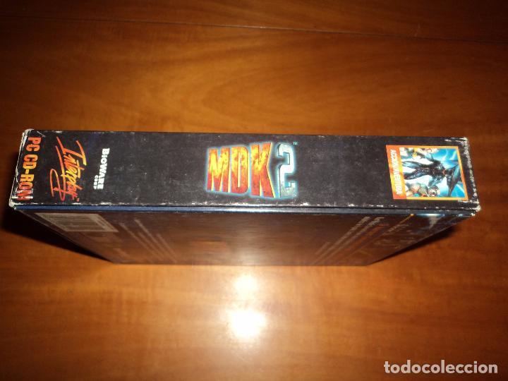 Videojuegos y Consolas: MDK 2 - PC - CAJA DE CARTON GRANDE - ¡¡NUEVO Y PRECINTADO (JUEGO Y MANUAL)!! - Foto 8 - 24583174