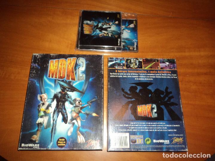 Videojuegos y Consolas: MDK 2 - PC - CAJA DE CARTON GRANDE - ¡¡NUEVO Y PRECINTADO (JUEGO Y MANUAL)!! - Foto 11 - 24583174